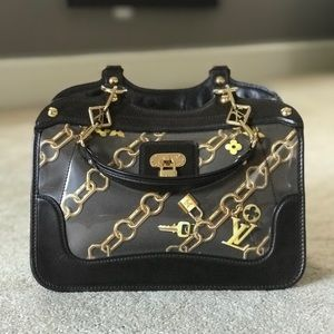 Louis Vuitton Cabas Limited Edition Charms
